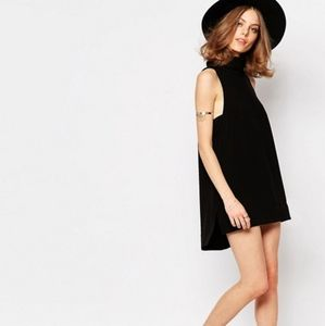 Free People Black Goldie Tunic Dress